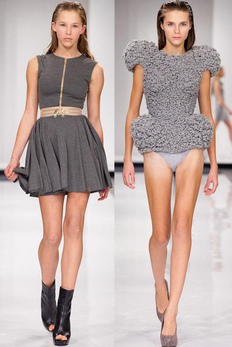 мода весна лето 2012